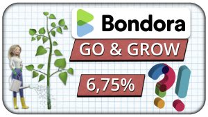 Bondora Go and Grow – Tagesgeldalternative mit 6,75% Rendite
